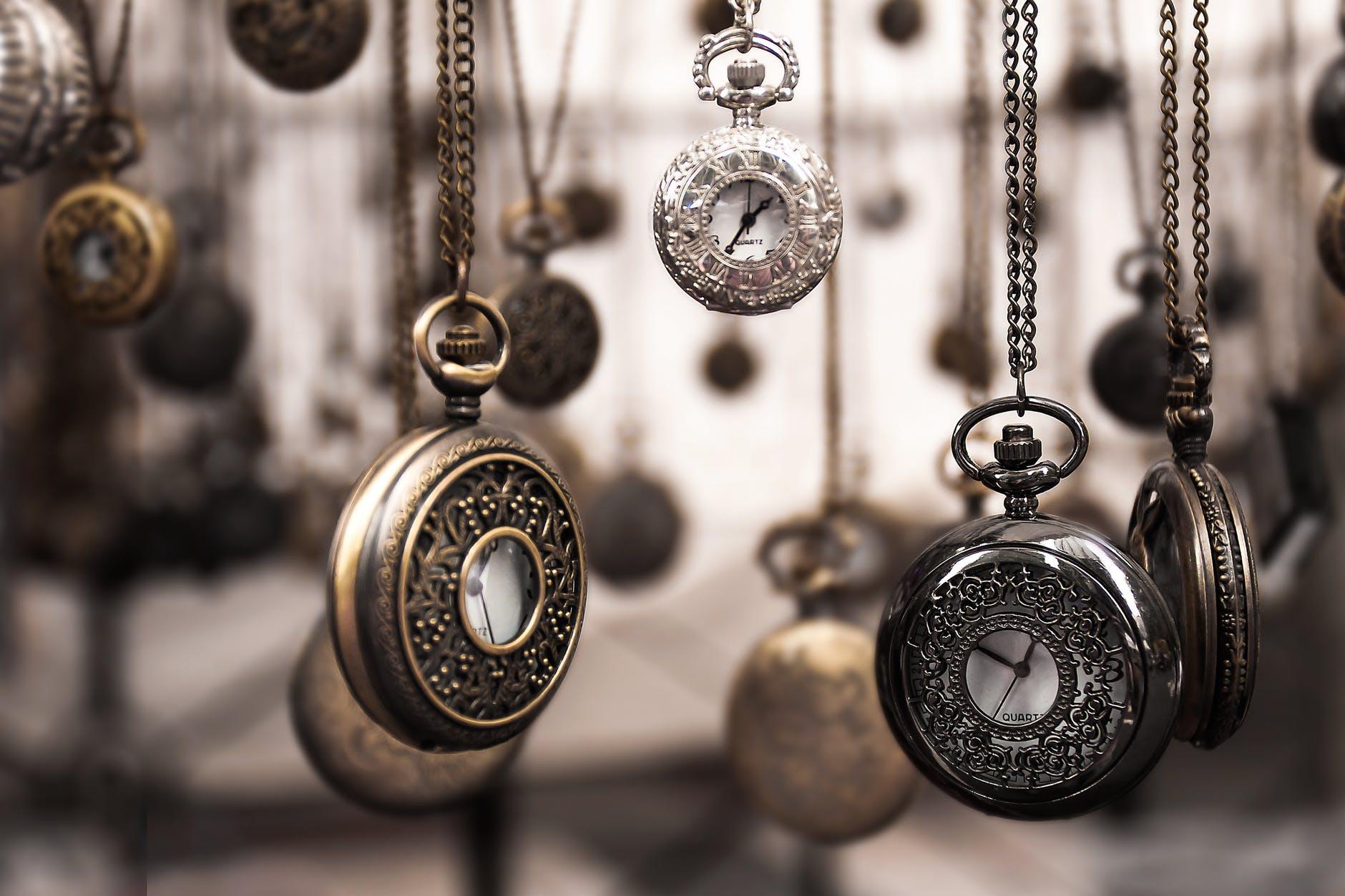 Flotte klokker som pryder hjemmet